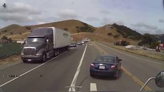 Video What You Don't Do In Front Of A Semi Truck MP3, 3GP, MP4, WEBM, AVI, FLV Agustus 2018