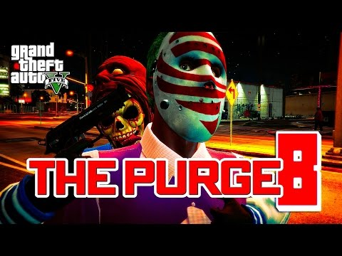 GTA 5 ONLINE - THE PURGE SEASON 2 EPISODE 8