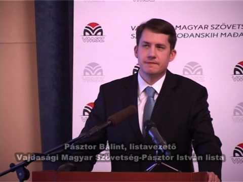 A VMSZ programismertetője Magyarkanizsán-cover