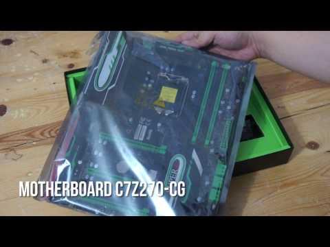Hands-On Motherboard SuperO C7Z270-CG