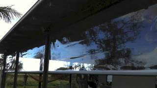 Creative Blinds & Awnings ZipTrak Clear PVC Ballina