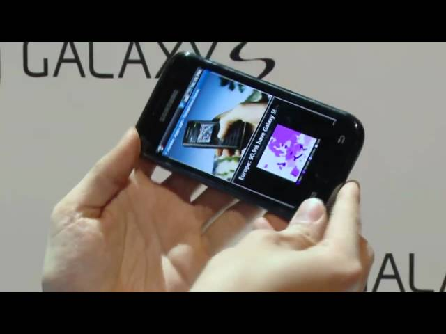 Introducing the Samsung Galaxy S - Official Demo