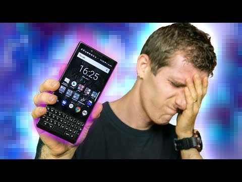 I used this for a MONTH ☹ - Blackberry Key2