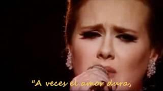 Adele - Someone like you [subtitulado]
