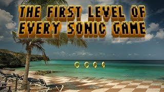 Video The First Levels of Sonic Games MP3, 3GP, MP4, WEBM, AVI, FLV Juli 2018
