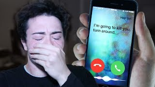 Video (PROOF THAT SIRI IS REAL) DO NOT FACETIME SIRI AT 3:00 AM *THIS IS WHY* 3 AM SIRI CHALLENGE!! MP3, 3GP, MP4, WEBM, AVI, FLV Oktober 2018