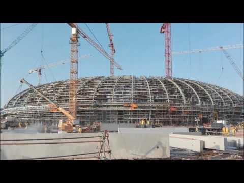 nas arena indoor futsal and vollyball stadium, dubai | tekla
