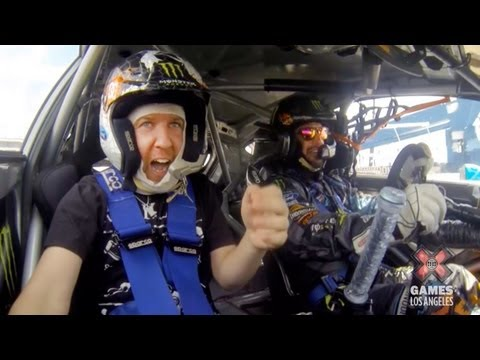 GoPro x Ken Block   X Games Gymkhana Preview with Nick Swardson | Video