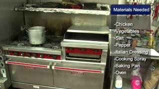 Baked Chicken Breasts With Fresh Vegetables Recipe. Part of the series: Chicken Recipes. Cooking baked chicken breasts with...