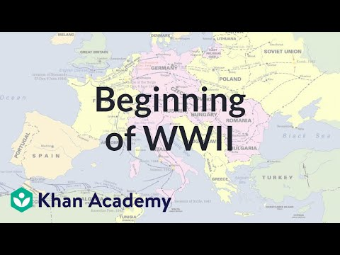 Beginning of World War II (video) | Khan Academy