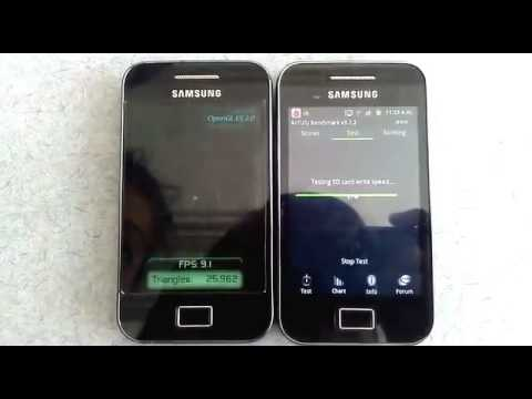 gt 5830i into latest android 4 1 1 jellybean video