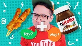 Video SATE + COKELAT NUTELLA Wkwkwk enak gak yah? MP3, 3GP, MP4, WEBM, AVI, FLV September 2018