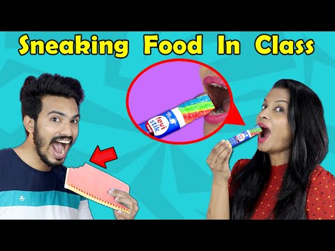 Tricks to Sneak Food Into Class | Back To School Pranks | Hungry Birds