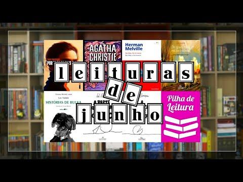 Leituras do Mês   JUNHO   2018   Pilha de Leitura