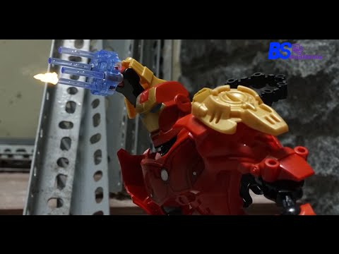Iron Man vs The Hulk Stop Motion