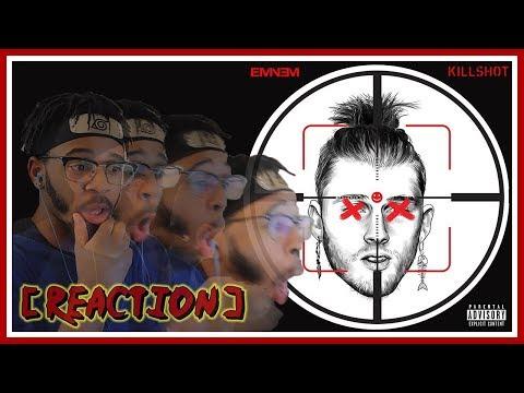 Machine GUNNED-DOWN Kelly || Eminem - KILLSHOT || REACTION