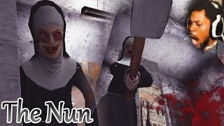 SHE'S SCARIER THAN GRANNY (..and kinkier wut) | The Nun (Scary Mobile Game)