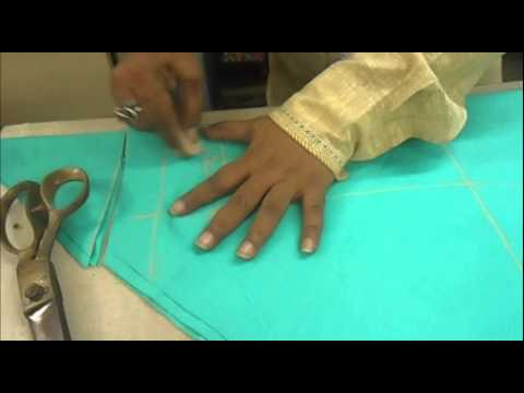 churidar - How to Cut Churidaar Pajama/Simple Churidar Cutting Method/Easy *