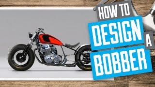 4. How to design a Bobber Motorcycle