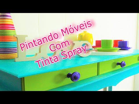 Móveis com Tinta Spray