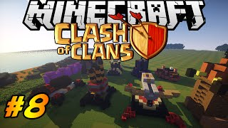 Clash of Clans in Minecraft | Making of #8 | Hidden Tesla, Giant Bomb, Pumpkin Bomb
