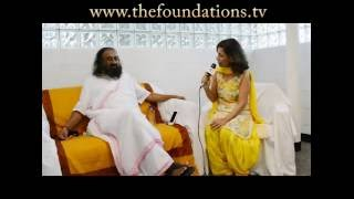 Sri Sri Ravi Shankar shares his views on The Foundations TV