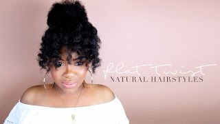 Today's video is brought to you by FLAWLESS by Gabrielle Union. Did y'all know she had a hair care line? Its available at Ulta and on http://bit.ly/FlawlessHairDay. In this tutorial I do a quick wash day routine, and then I set my hair with two large flat twists.These flat twists are EVERYTHING! From this setting technique I got loose waves that can be styled as a curly fro or a curly bun with an oversized bang. I could even rock the flat twists as is. I love styles like this that can be worn in different ways. My favorite products from the FLAWLESS collection are the hair masque and the blow dry cream (which is also a heat protectant). This is a fairly new launch so they have more products coming soon; such as a new leave in conditioner and styling products. Follow @flawlesshairday on Instagram for more info!/ / / / / / / / / / / / / / / / / / / / / / / / / / / / PRODUCT USED1 SMOOTHING SHAMPOOhttp://bit.ly/FlawlessHairDay2 SMOOTHING CONDITIONERhttp://bit.ly/FlawlessHairDay3 HAIR REPAIR MASQUEhttp://bit.ly/FlawlessHairDay4 BLOW DRY CREAMhttp://bit.ly/FlawlessHairDay5 OIL TREATMENThttp://bit.ly/FlawlessHairDay6 EDGE CONTROL GELhttp://bit.ly/FlawlessHairDay7 SHINE SPRAYhttp://bit.ly/FlawlessHairDay/ / / / / / / / / / / / / / / / / / / / / / / / / / / / TAYLOR & SKYLAR'S CHANNEL https://goo.gl/CquWtHFOLLOW DEVON @devonbeck365DEVON'S MUSIC ON iTUNES: https://goo.gl/ZiyEHlNATURAL HAIR T-SHIRTS & MOREhttp://www.etcboutique.spreadshirt.comB L O G   http://www.etcblogmag.comS N A P C H A T /etcblogmagI N S T A G R A M   @etcblogmagT W I T T E R  @etcblogmagF A C E B O O K  /etcblogmagSTYLEHAUL PARTNER  http://www.youtube.com/stylehaul