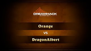 Orange vs Dragonalbert, game 1