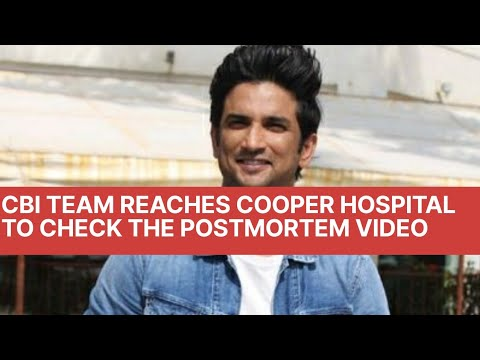 CBI Team Reaches Cooper Hospital to Check The Postmortem Video and Pictures l