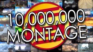 10 MILLION SUBSCRIBER MEGA MONTAGE