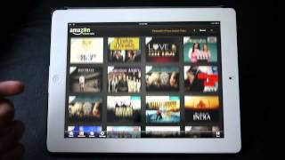 Video Amazon Instant Video for iPad hands-on MP3, 3GP, MP4, WEBM, AVI, FLV Februari 2019