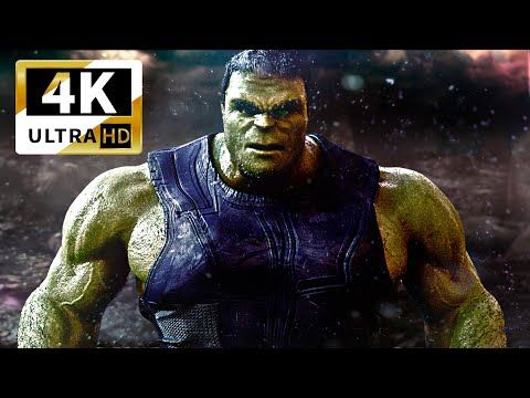 Avengers: Endgame Fight Scene (epic Battle) | Hulk Vs. Thanos  Fan Made