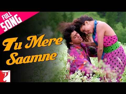 Video Tu Mere Saamne - Full Song | Darr | Shah Rukh Khan | Juhi Chawla | Lata Mangeshkar | Udit Narayan download in MP3, 3GP, MP4, WEBM, AVI, FLV January 2017
