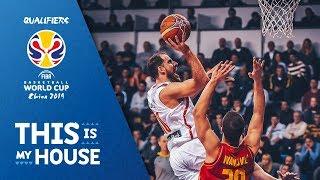 Montenegro v Spain - Highlights - FIBA Basketball World Cup 2019 - European Qualifiers