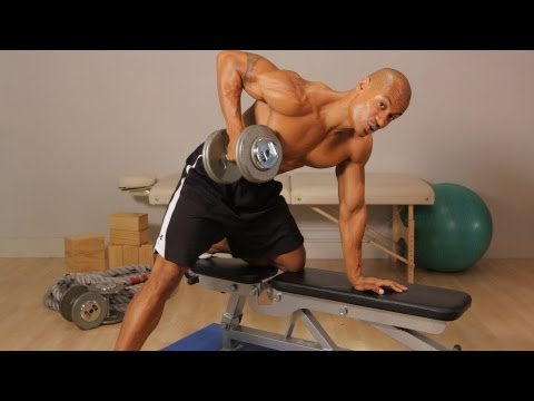 How to Do a Dumbbell Row | Back Workout