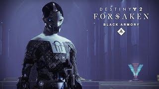 Black Armory Volundr Forge Opens - Destiny 2: Forsaken