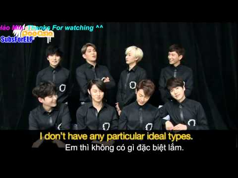 [SubForELF] [Vietsub]SBSPopAsia   Super Junior nói về mẫu bạn gái lí tưởng