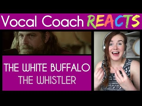 "Vocal Coach reacts to The White Buffalo At: Guitar Center ""The Whistler"""