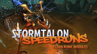 Stormtalon Speedruns for Eldan Runic Modules