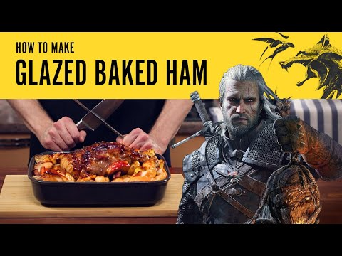 Stan's Table: Glazed Baked Ham from The Witcher