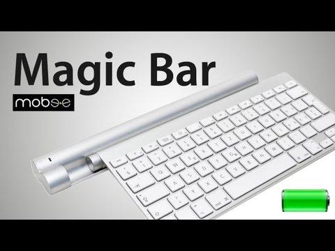 NIE WIEDER Akku wechseln - Magic Bar Mobee - Apple Keyboard - REVIEW / TEST