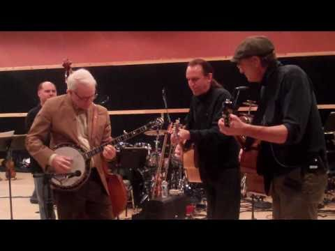 """Foggy Mountain Breakdown"" James Taylor & Steve Martin rehearse for Carnegie Hall"