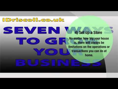 Tips For Growing A Work From Home Business