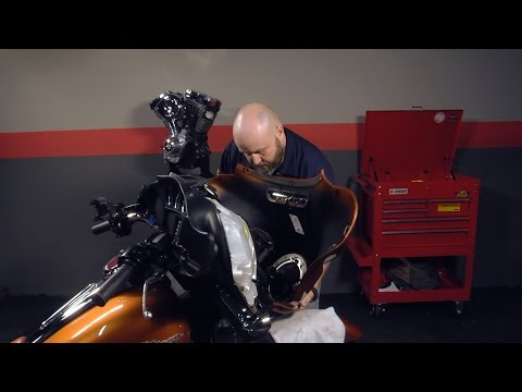 How to Remove Outer Fairing from Harley Davidson Touring Motorcycles by J&P Cycles