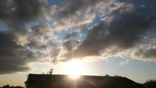 08 July 2015 - NEXRAD Cloud Sunset Time-lapse