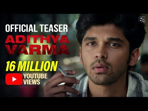 Adithya Varma Tamil movie Latest Teaser
