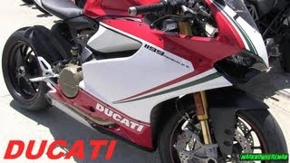 7. Spotted: DUCATI 1199 Panigale S Tricolore & DUCATI Desmosedici RR
