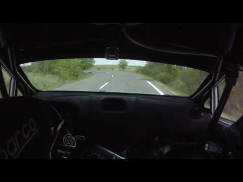 Kovács-Istovics Ózd Rally 2017. SS 11. Cered 2.