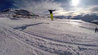 Alpe D'Huez France  City new picture : Skiing in Alpe D'Huez 2015 GoPro Hero 3+