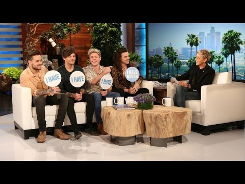 Ellen Questions the Boys of One Direction in a Mostly-Honest Game of 'Never Have I Ever'